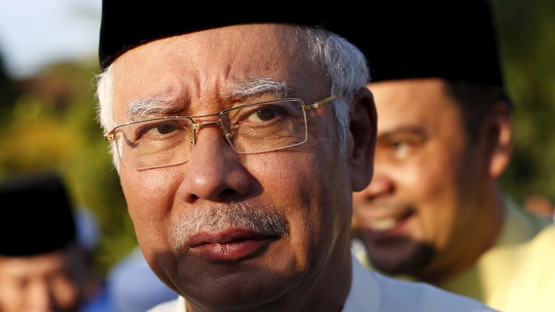 Malaysian PM unmoved by $1 bln U.S. lawsuit