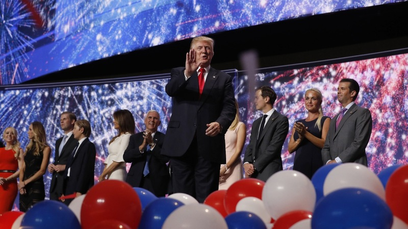 VERBATIM: 4 days at the RNC in 90 seconds