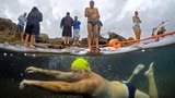IN PICTURES: Australia's winter swimmers