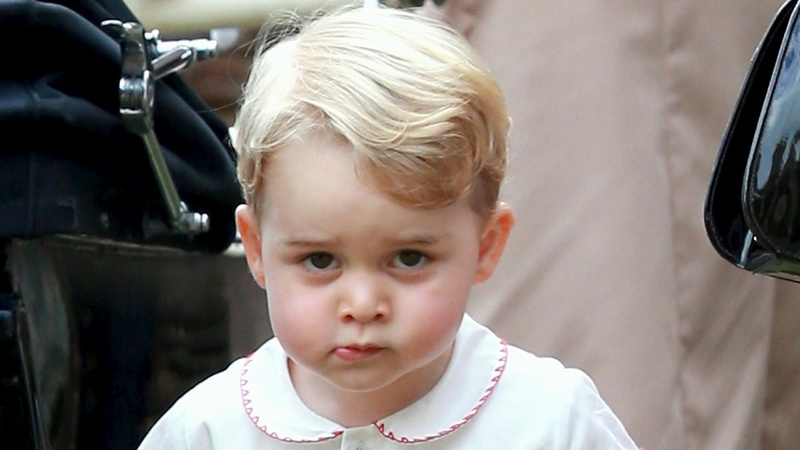 Britain's Prince George turns 3