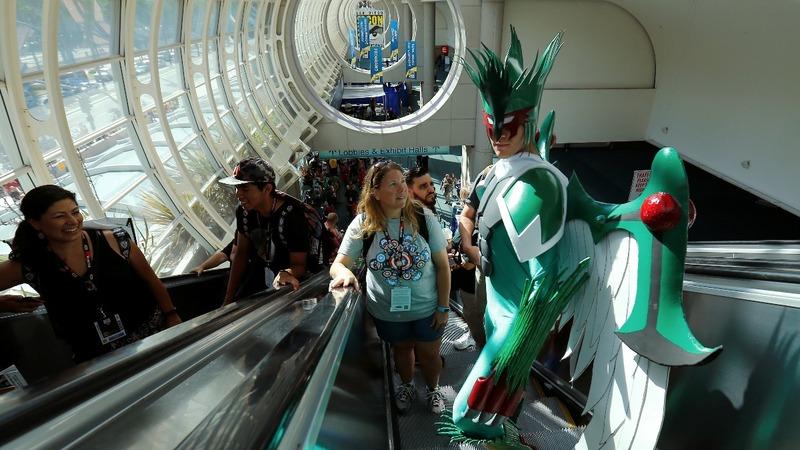 The wild costumes of Comic Con