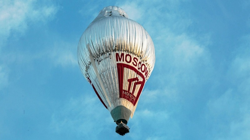 Russian sets record for global balloon flight