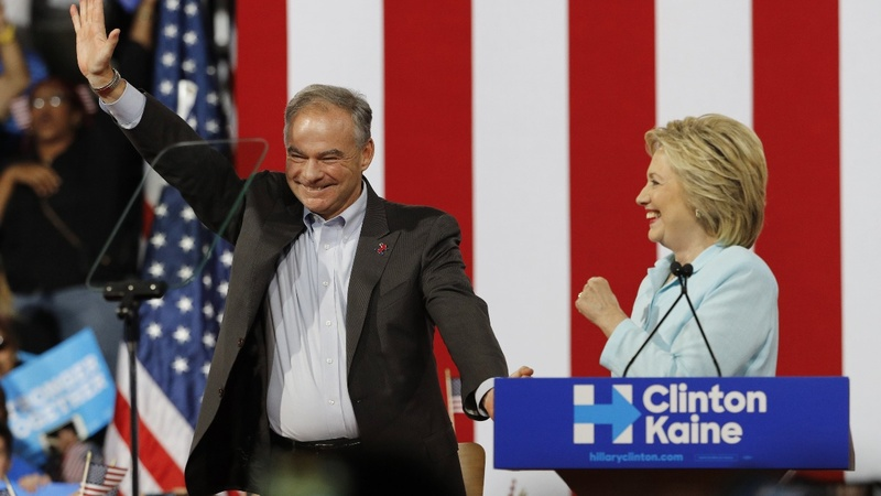 VERBATIM: Clinton running mate comes out swinging