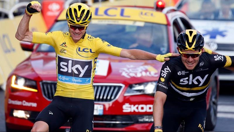 VERBATIM: Froome wins third Tour de France