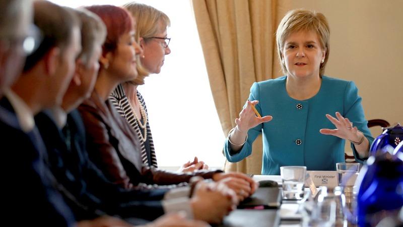VERBATIM: Sturgeon preparing post-Brexit options