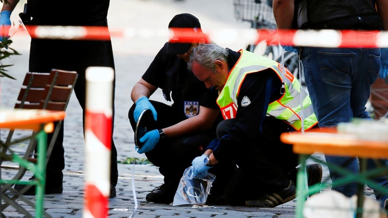 Syrian blows himself up in Germany, 12 injured