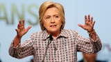"VERBATIM: Clinton slams ""trash talk""  in DNC warm-up"