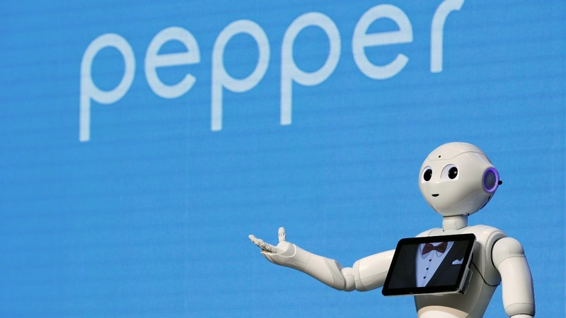 SoftBank's robots take over Taiwan