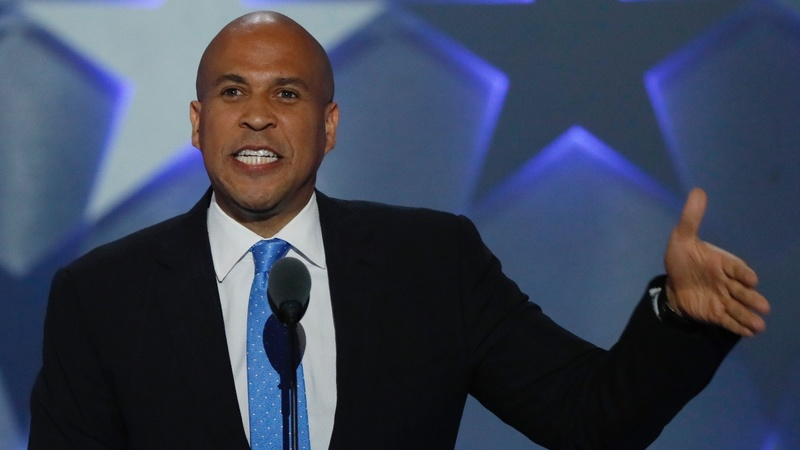 VERBATIM: Cory Booker tells DNC 'America will rise'