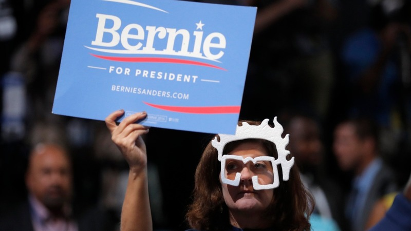 'Bernie or bust' hits the convention