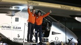 Solar-powered plane circles globe in 16 months