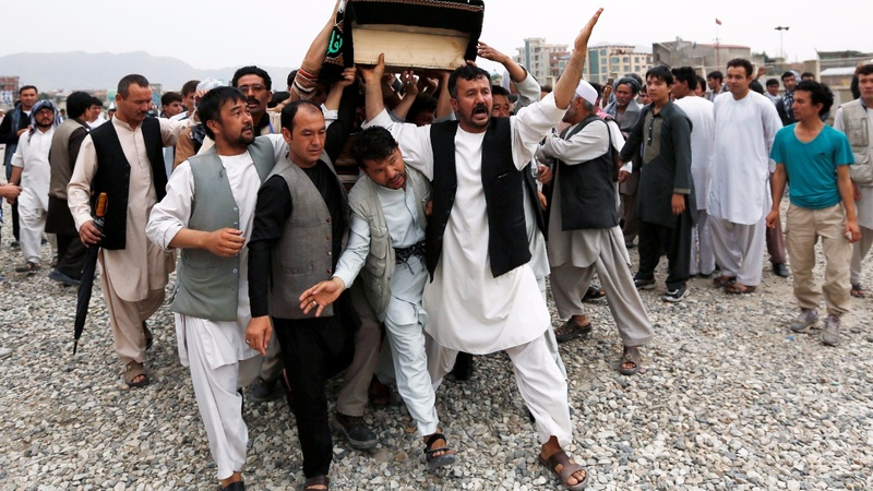 Civilian casualties hit record high in Afghanistan