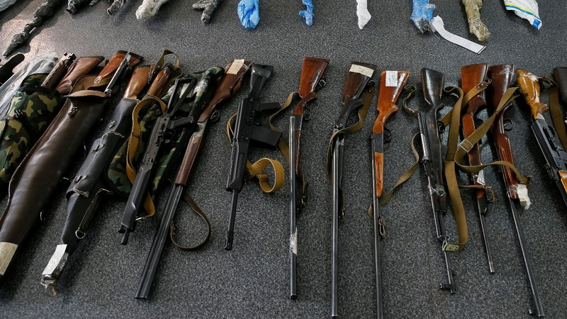 Post war Ukraine a minefield for illegal arms
