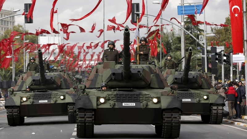 "Turkish army a ""broken force"" after coup"