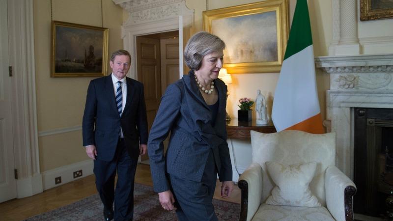 VERBATIM: Irish and UK leaders meet