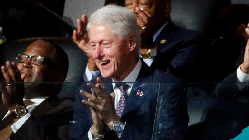 DNC Day 2: It's Bill time