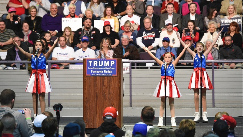 Viral 'USA Freedom Kids' creator to sue Trump