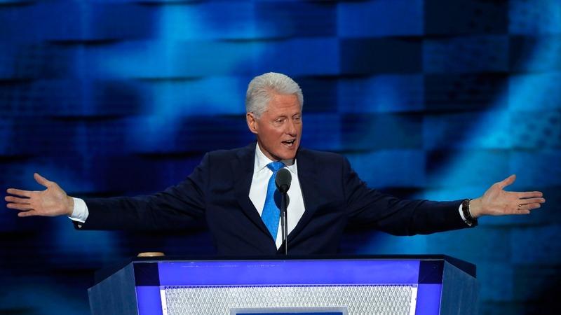 VERBATIM: Bill Clinton lauds Hillary as 'change-maker'