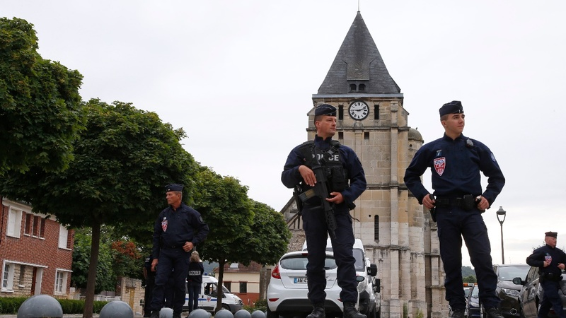 Church attacker was known would-be jihadist