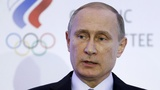 Putin calls ban on athletes a political coup