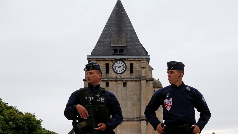 Church attacker was known would-be jihadist