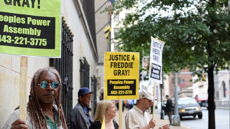 Charges dropped against officers in Freddie Gray trial