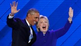 Obama passes the torch to Clinton