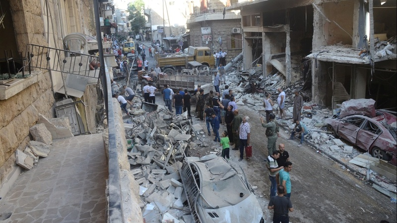 Syria to open exit corridors out of Aleppo