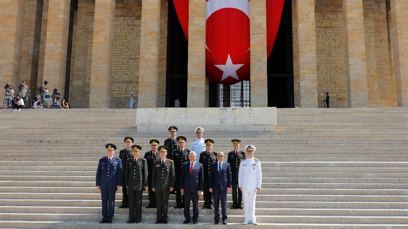 Turkish army top brass slashed in deep purge