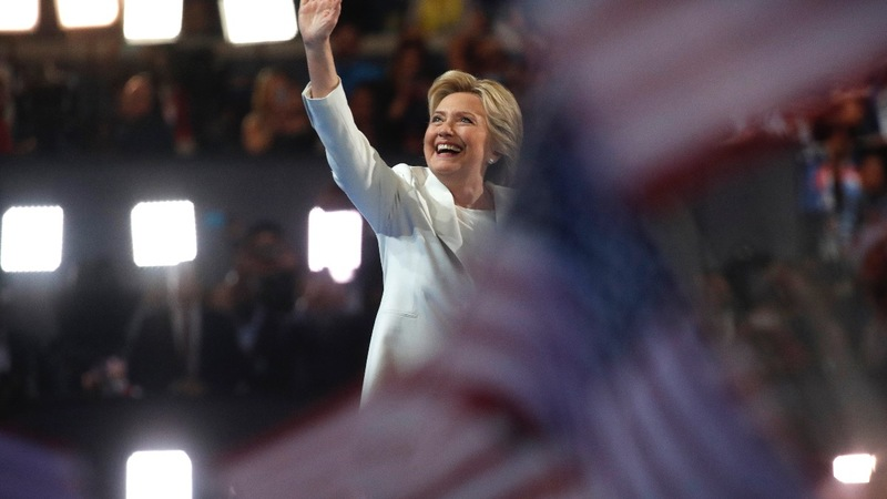 Candidate Clinton re-introduces herself to America