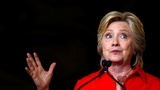 Clinton blames Russia for DNC hack