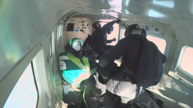 INSIGHT: Skydiver jumps without parachute