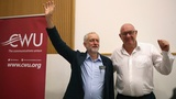 Corbyn backed by CWU union for leadership