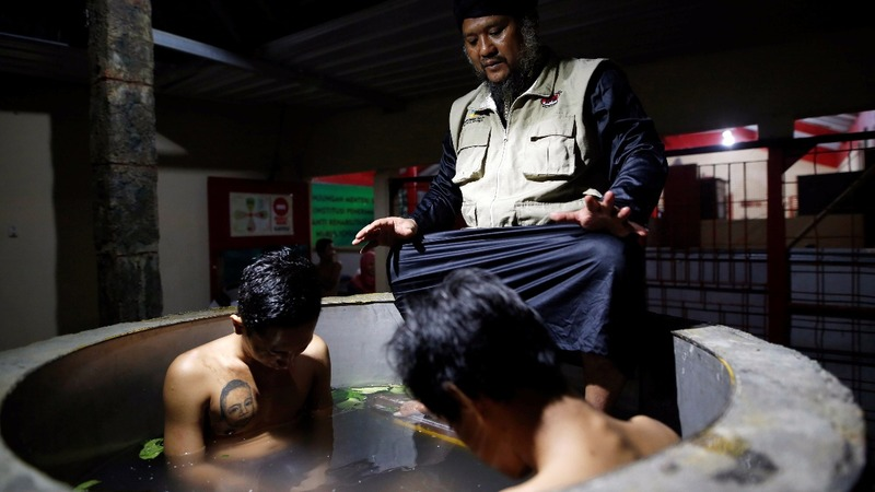 Indonesia's war on drugs leaves out rehab