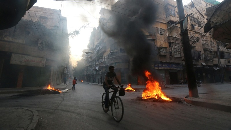 'Toxic gas' dropped on Syrian town