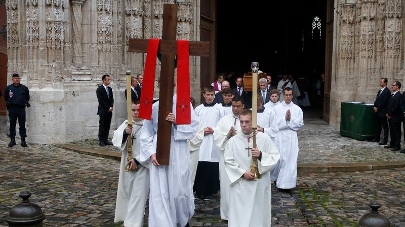 Slain priest remembered in France
