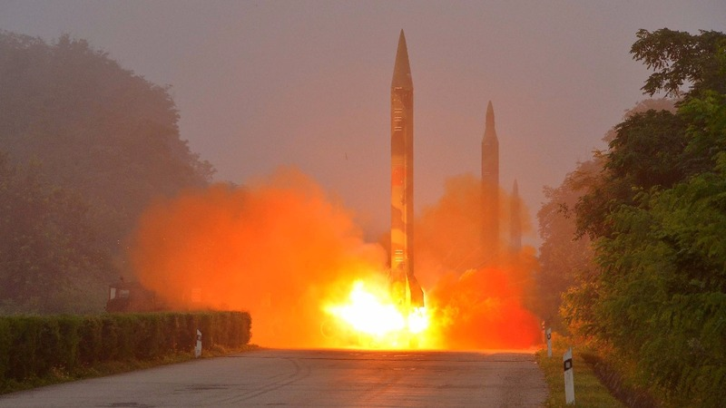 North Korea fires off a ballistic missile