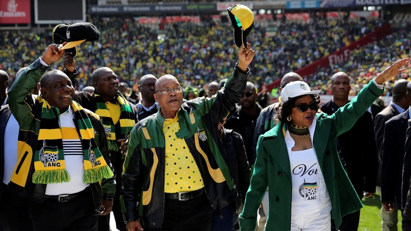 South Africa 2016: Zuma leadership challenged
