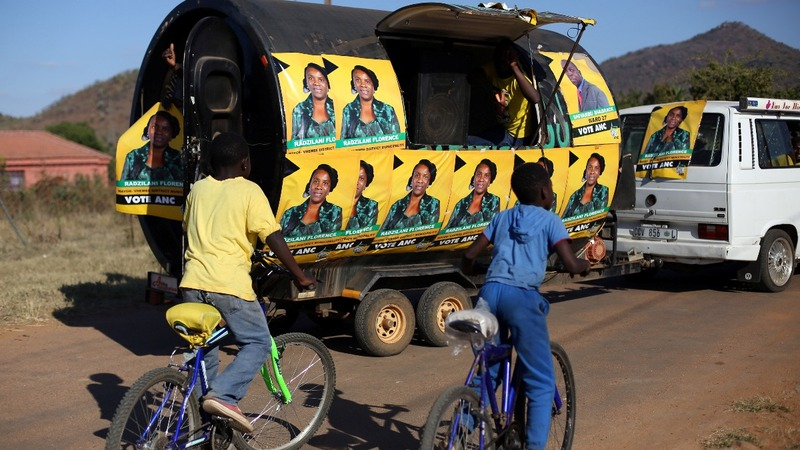 South African vote tests Zuma's presidency