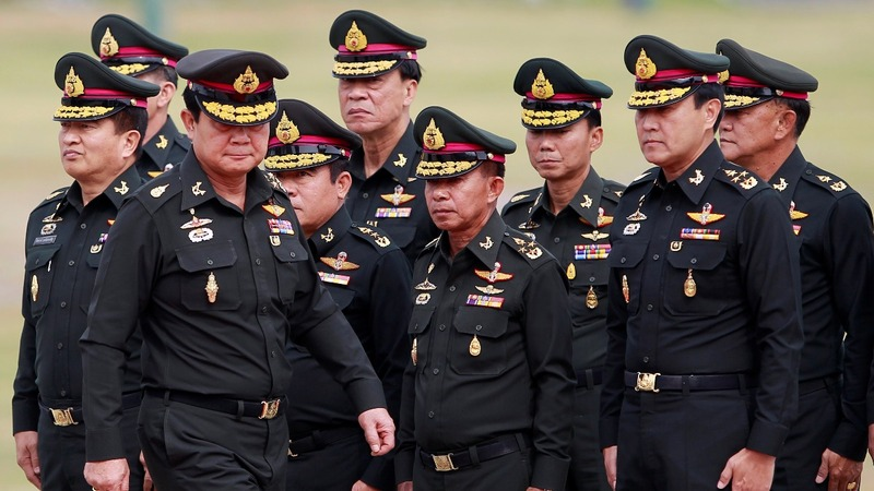 Thailand's army looks to tighten grip on power