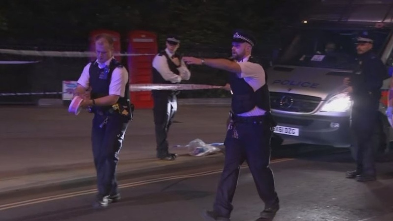 Woman killed, several hurt in London knife attack