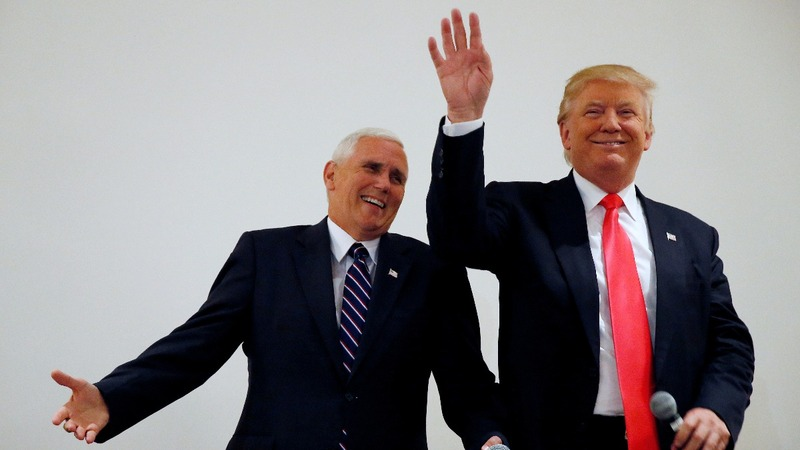 Trump and Pence diverge over endorsements