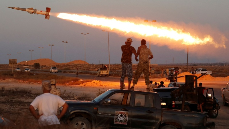 US air strikes bolster Libya fight against IS