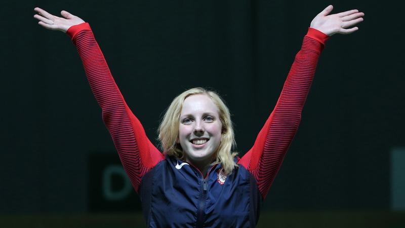 U.S. teen wins Olympics' first gold