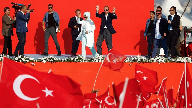INSIGHT: Turkey's Erdogan stages rally after coup attempt