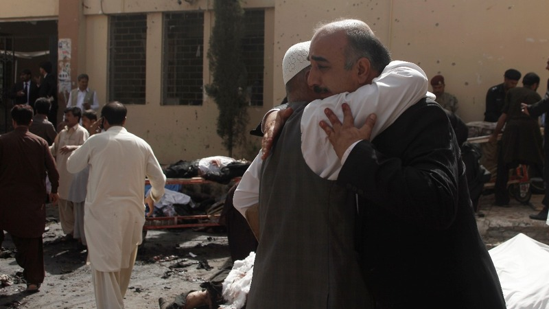 Pakistan hospital bomb attack kills 50