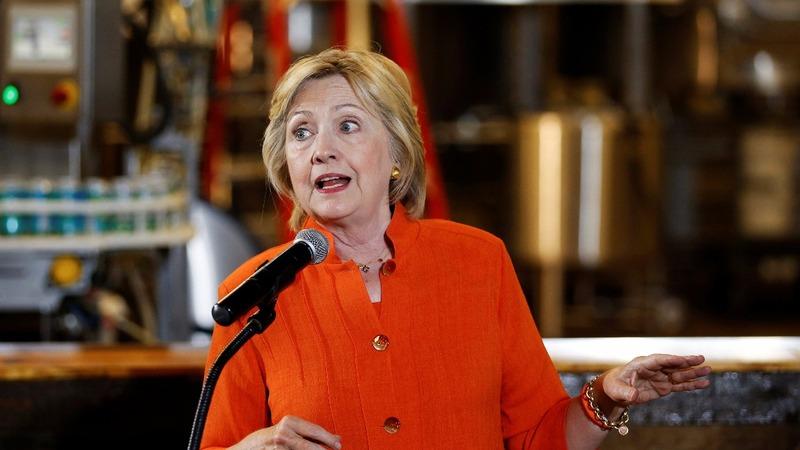 VERBATIM: Clinton hits back at Trump's tax plan