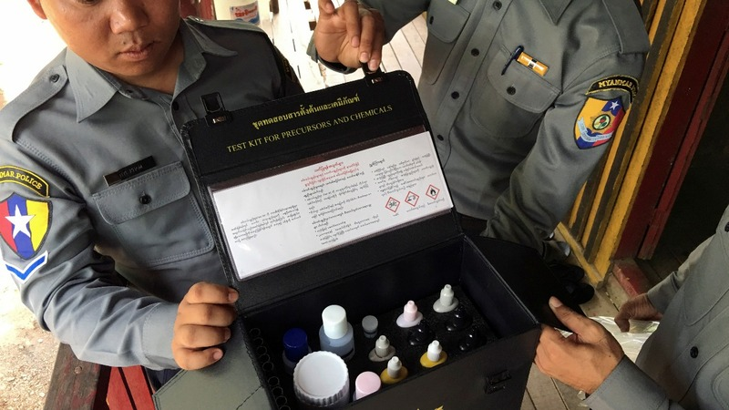 A meth boom in Myanmar, fueled by Indian pills
