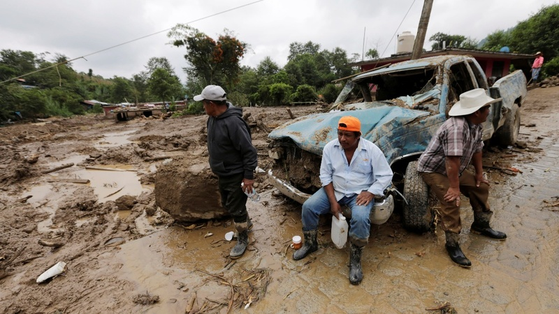 At least 40 killed in Mexico mudslides