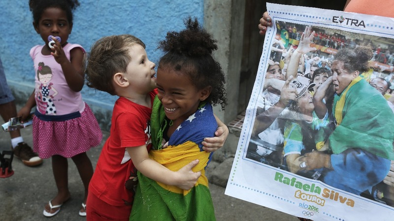 What a gold medal means to Brazil's slums